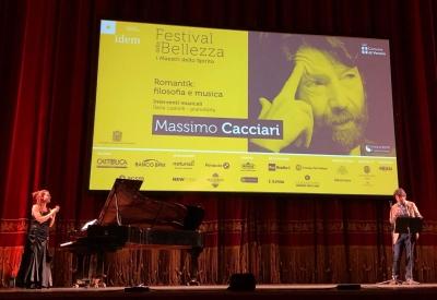 MASSIMO CACCIARI AL FESTIVAL DELLA BELLEZZA 2018: LA MUSICA RACCONTA IL SUBLIME